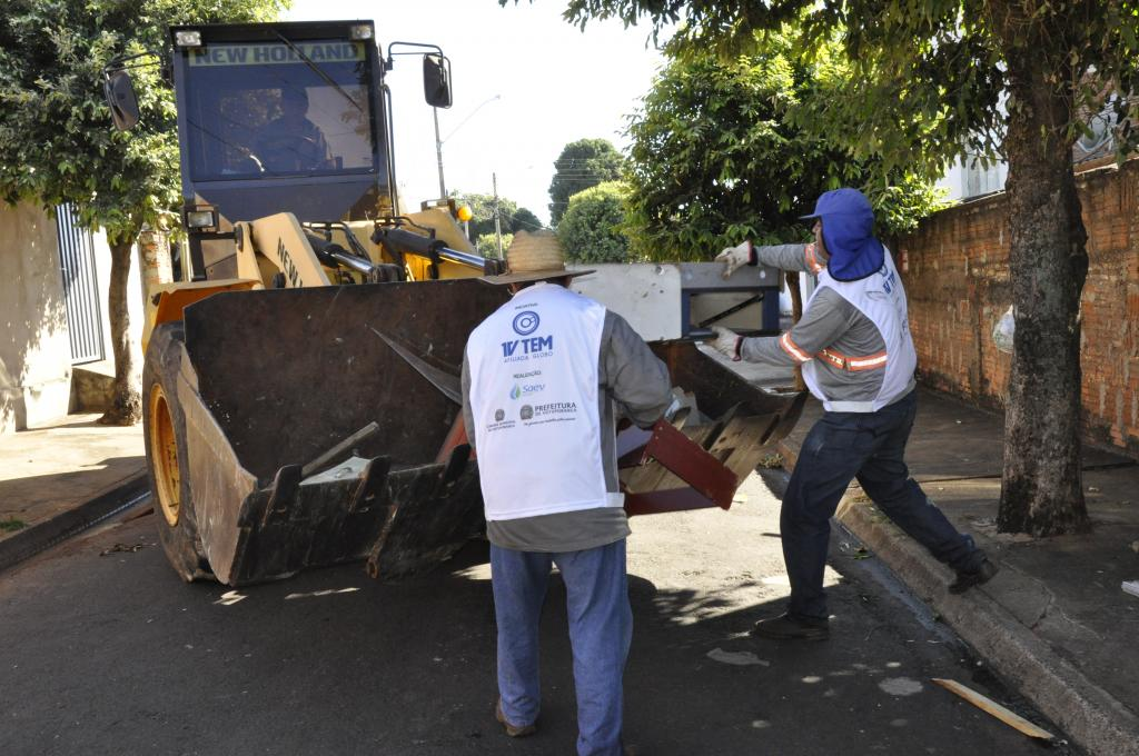 Saev Ambiental divulga balanço do Cidade Limpa