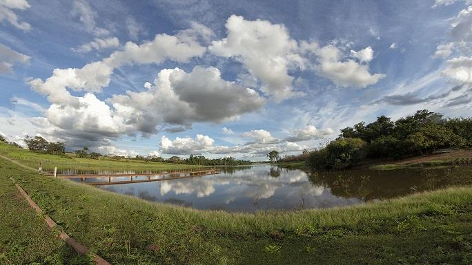 Chuva, consumo consciente e ações da Saev Ambiental, garantem cem por cento de abastecimento de água tratada à população
