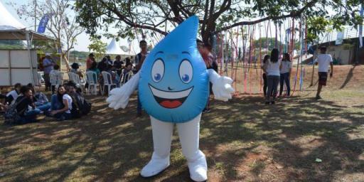 Mascote da Saev Ambiental é destaque em Semana de Pedagogia da Unesp