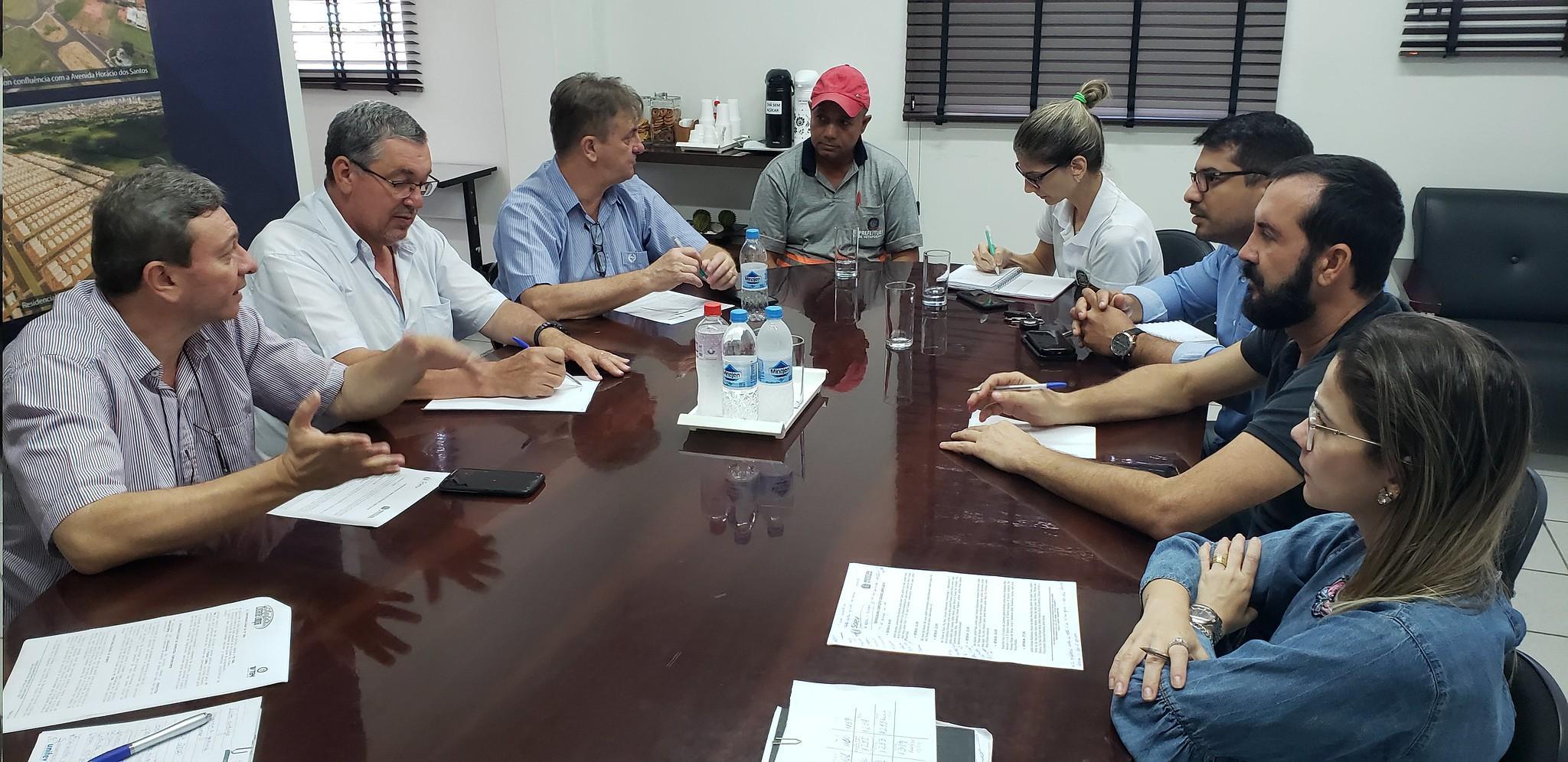 Prefeitura e Saev Ambiental definem operação para o Cidade Limpa