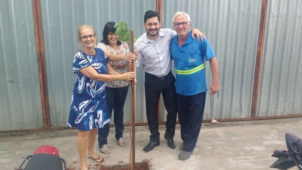 Secretaria da Educação mobiliza servidores com plantio de árvores